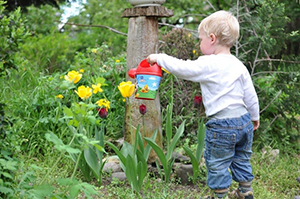 Gardening With Small Children