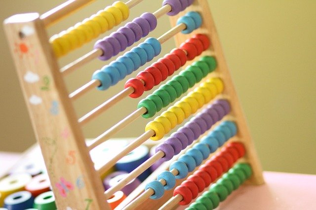 toy abacus in locally-owned childcare centers